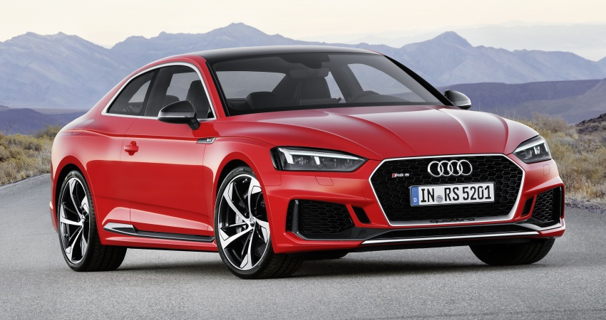 Audi RS5 Coupe debuts in Geneva – 450 hp, 600 Nm Image #625653