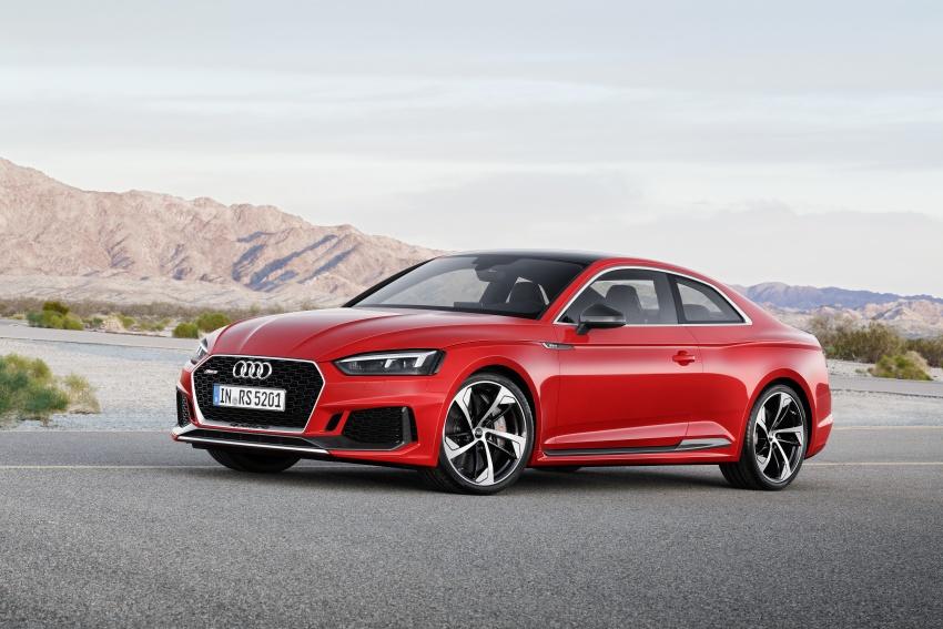 Audi RS5 Coupe debuts in Geneva – 450 hp, 600 Nm Image #625625
