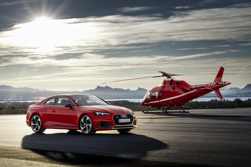 Audi RS5 Coupe debuts in Geneva – 450 hp, 600 Nm Image #625600