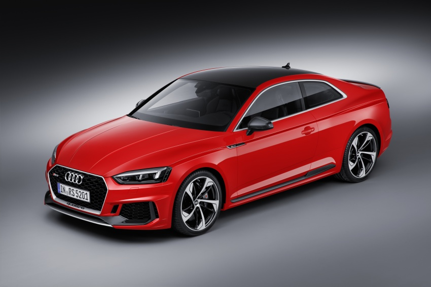 Audi RS5 Coupe debuts in Geneva – 450 hp, 600 Nm Image #625590