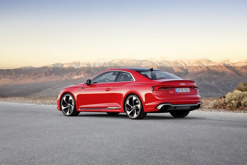 Audi RS5 Coupe debuts in Geneva – 450 hp, 600 Nm Image #625608