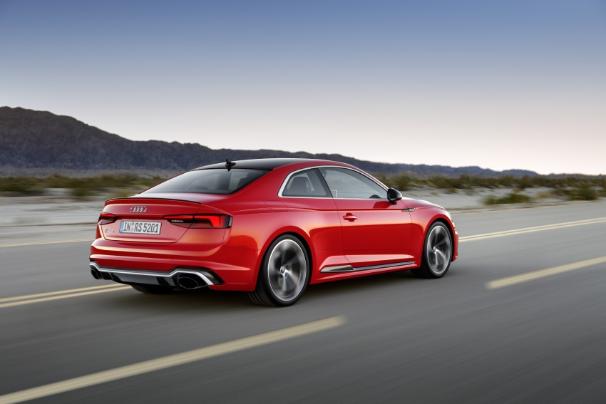 Audi RS5 Coupe debuts in Geneva – 450 hp, 600 Nm Image #625671