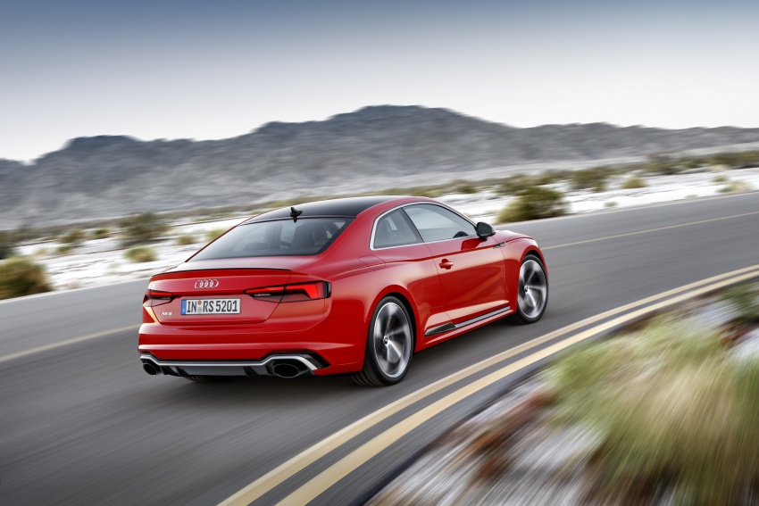Audi RS5 Coupe debuts in Geneva – 450 hp, 600 Nm Image #625663