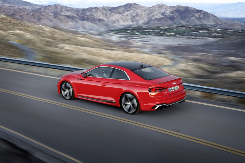 Audi RS5 Coupe debuts in Geneva – 450 hp, 600 Nm Image #625668