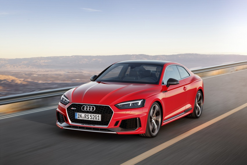 Audi RS5 Coupe debuts in Geneva – 450 hp, 600 Nm Image #625662