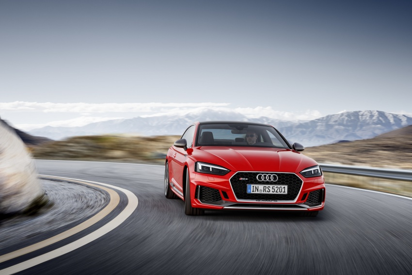 Audi RS5 Coupe debuts in Geneva – 450 hp, 600 Nm Image #625673