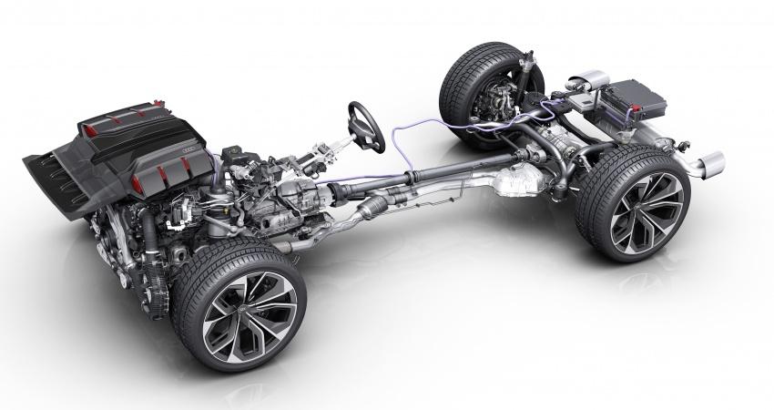 Audi Q8 sport debuts in Geneva – 1,200 km range Image #625583
