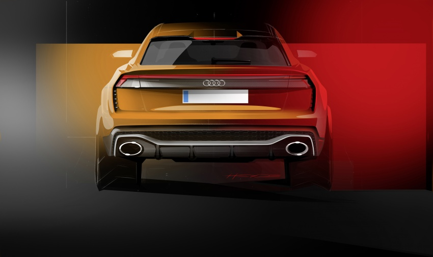 Audi Q8 sport debuts in Geneva – 1,200 km range Image #625610