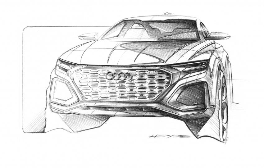 Audi Q8 sport debuts in Geneva – 1,200 km range Image #625602