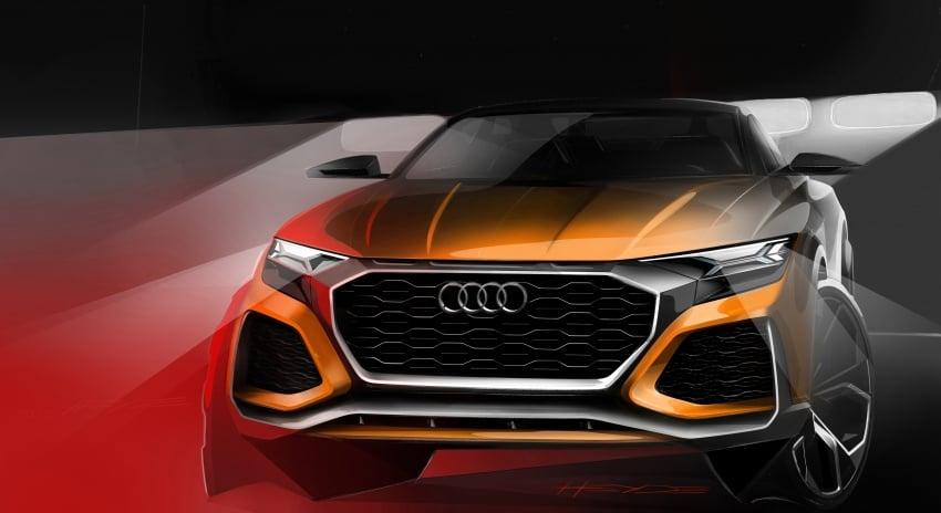 Audi Q8 sport debuts in Geneva – 1,200 km range Image #625626