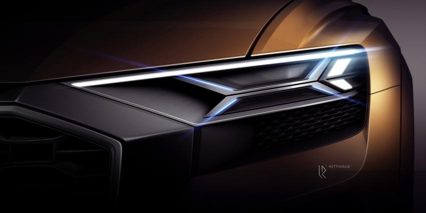 Audi Q8 sport debuts in Geneva – 1,200 km range Image #625591