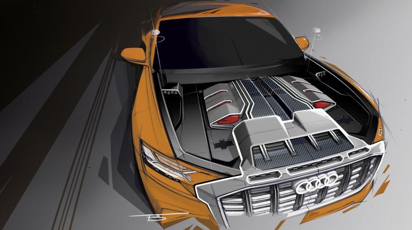 Audi Q8 sport debuts in Geneva – 1,200 km range Image #625604