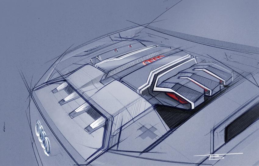 Audi Q8 sport debuts in Geneva – 1,200 km range Image #625589