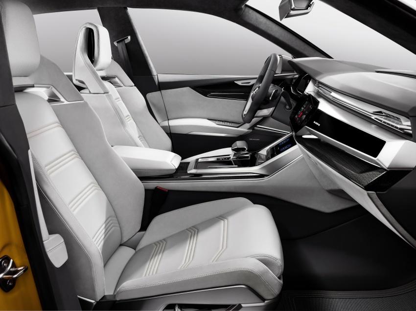 Audi Q8 sport debuts in Geneva – 1,200 km range Image #625630