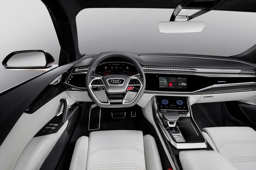Audi Q8 sport debuts in Geneva – 1,200 km range Image #625632