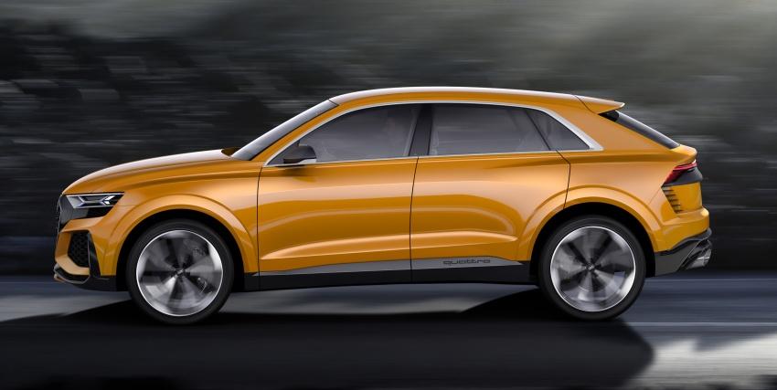 Audi Q8 sport debuts in Geneva – 1,200 km range Image #625649