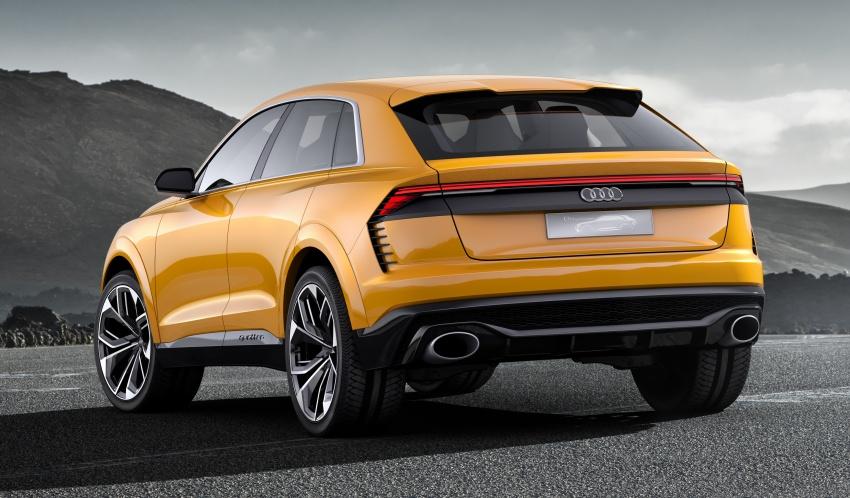 Audi Q8 sport debuts in Geneva – 1,200 km range Image #625666