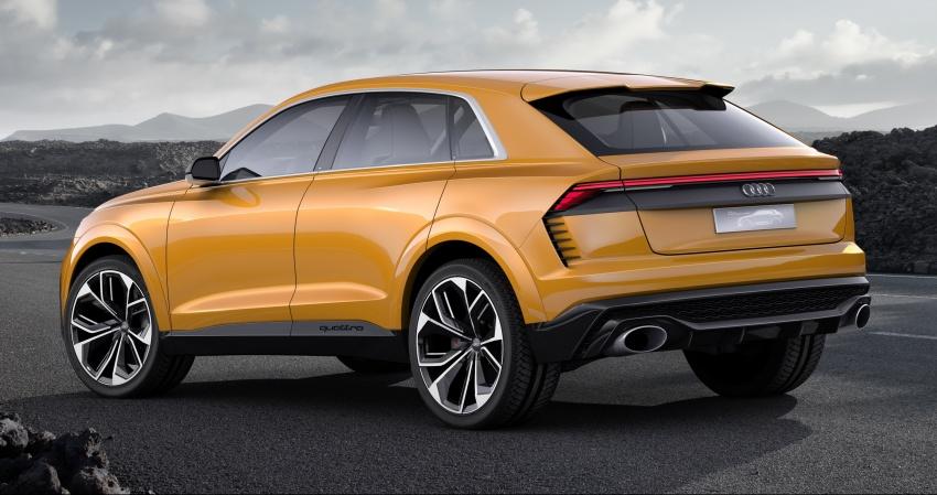 Audi Q8 sport debuts in Geneva – 1,200 km range Image #625664