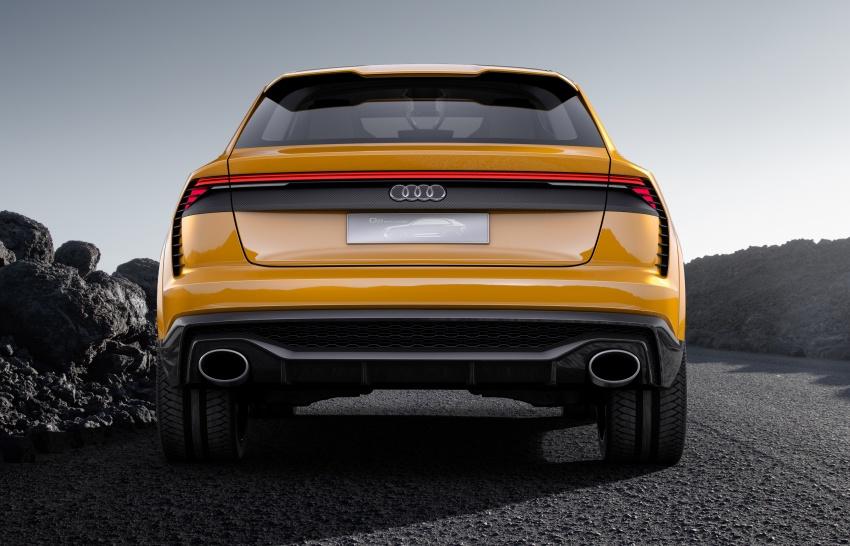 Audi Q8 sport debuts in Geneva – 1,200 km range Image #625658