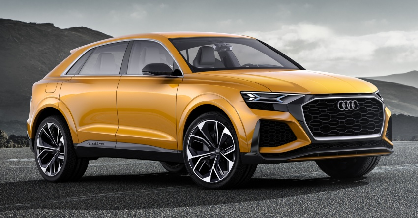 Audi Q8 sport debuts in Geneva – 1,200 km range Image #625670
