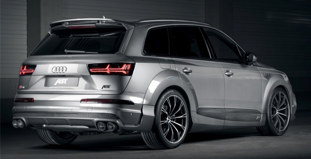 The Sel Performance Suv Can Be Lowered By 20 Mm From Its Standard Ride Height Thanks To Abt Level Control Whilst Retaining Availability Of