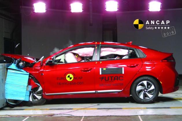 Hyundai Ioniq, Volvo S90 dan Audi A5 dapat penarafan penuh lima bintang dalam ujian Australasian NCAP Image #631526