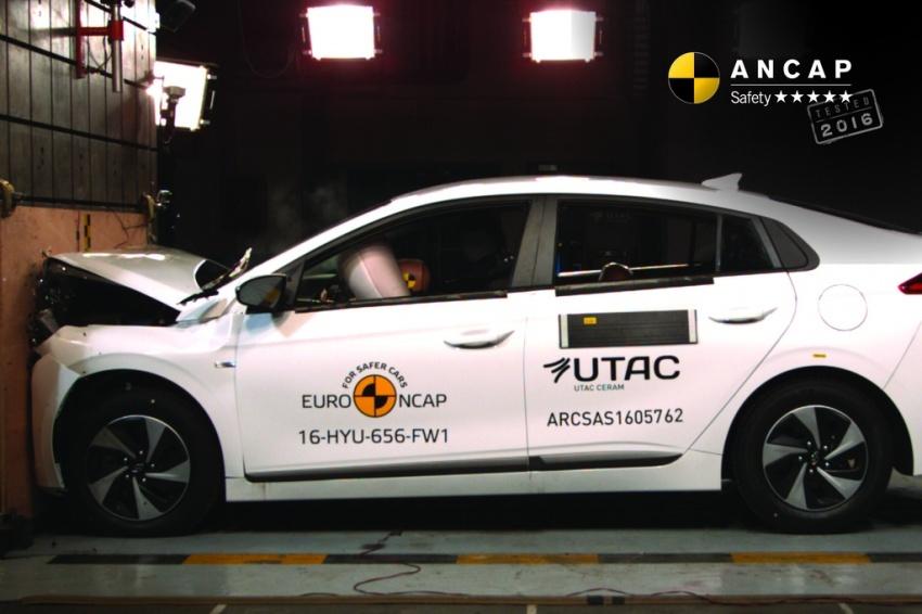 Hyundai Ioniq, Volvo S90 dan Audi A5 dapat penarafan penuh lima bintang dalam ujian Australasian NCAP Image #631525