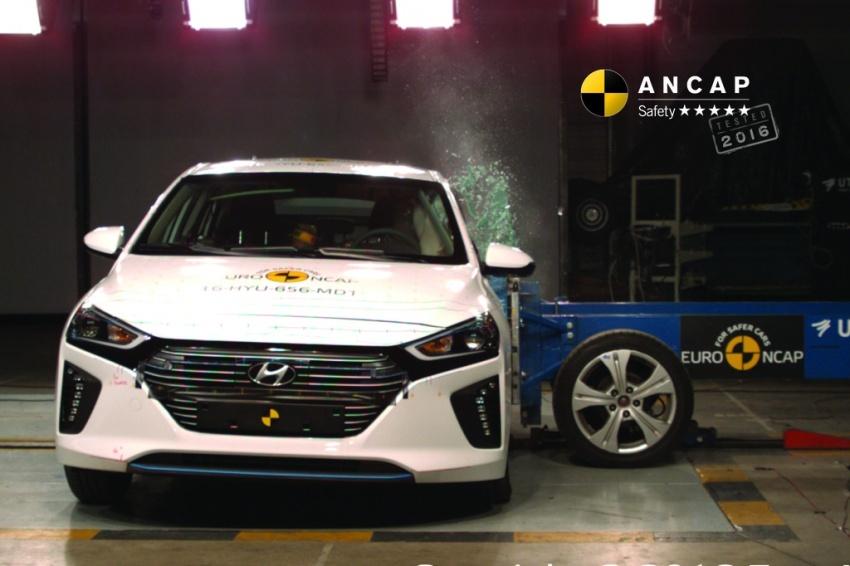 Hyundai Ioniq, Volvo S90 dan Audi A5 dapat penarafan penuh lima bintang dalam ujian Australasian NCAP Image #631516