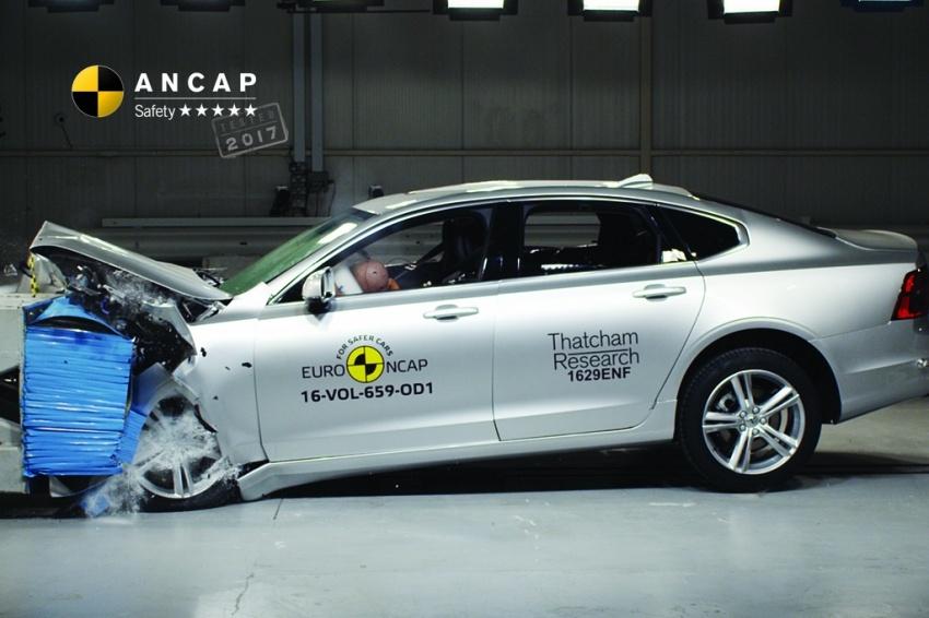 Hyundai Ioniq, Volvo S90 dan Audi A5 dapat penarafan penuh lima bintang dalam ujian Australasian NCAP Image #631524