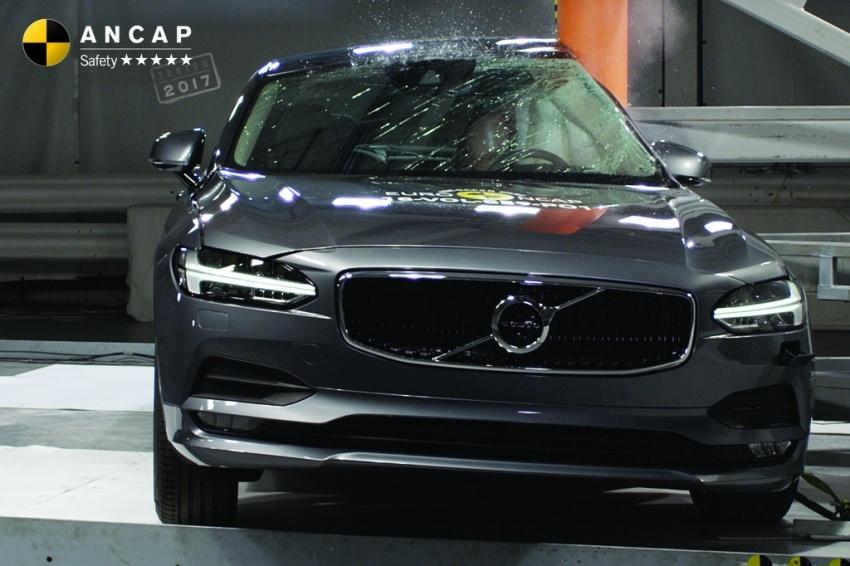 Hyundai Ioniq, Volvo S90 dan Audi A5 dapat penarafan penuh lima bintang dalam ujian Australasian NCAP Image #631519
