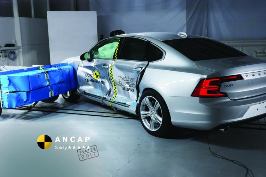 Hyundai Ioniq, Volvo S90 dan Audi A5 dapat penarafan penuh lima bintang dalam ujian Australasian NCAP Image #631522