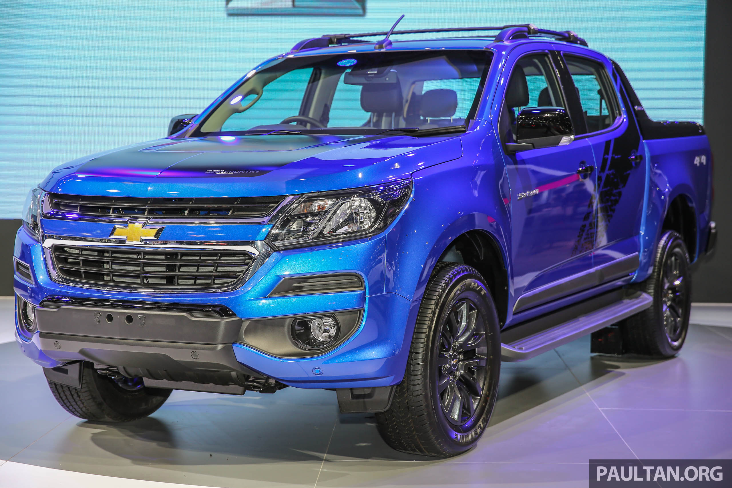Colorado Tax Calculator >> Bangkok 2017: Chevy Colorado High Country Storm