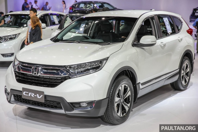 Bangkok 2017 Honda Cr V Thai 7 Seater Live Gallery