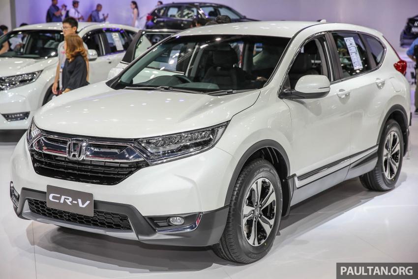 Bangkok 2017: Honda CR-V – galeri langsung dari Thailand; pilihan enjin 2.4L petrol dan 1.6L diesel Image #635456