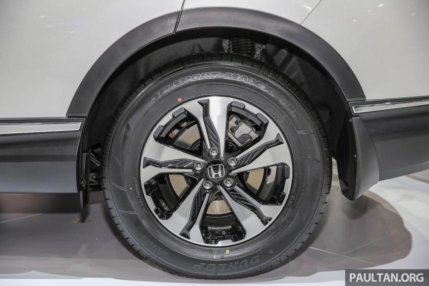 Bangkok 2017: Honda CR-V – galeri langsung dari Thailand; pilihan enjin 2.4L petrol dan 1.6L diesel Image #635444