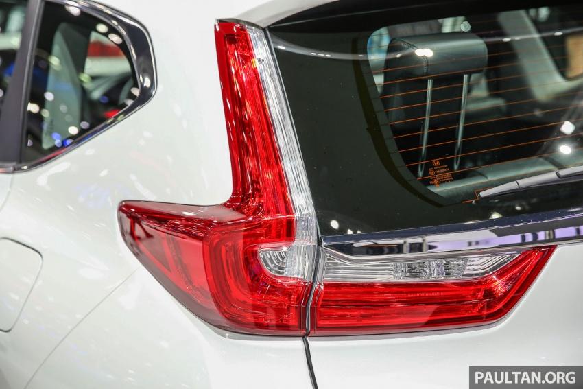 Bangkok 2017: Honda CR-V – galeri langsung dari Thailand; pilihan enjin 2.4L petrol dan 1.6L diesel Image #635437