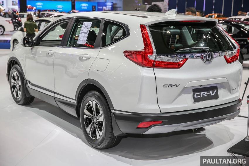 Bangkok 2017: Honda CR-V – galeri langsung dari Thailand; pilihan enjin 2.4L petrol dan 1.6L diesel Image #635441
