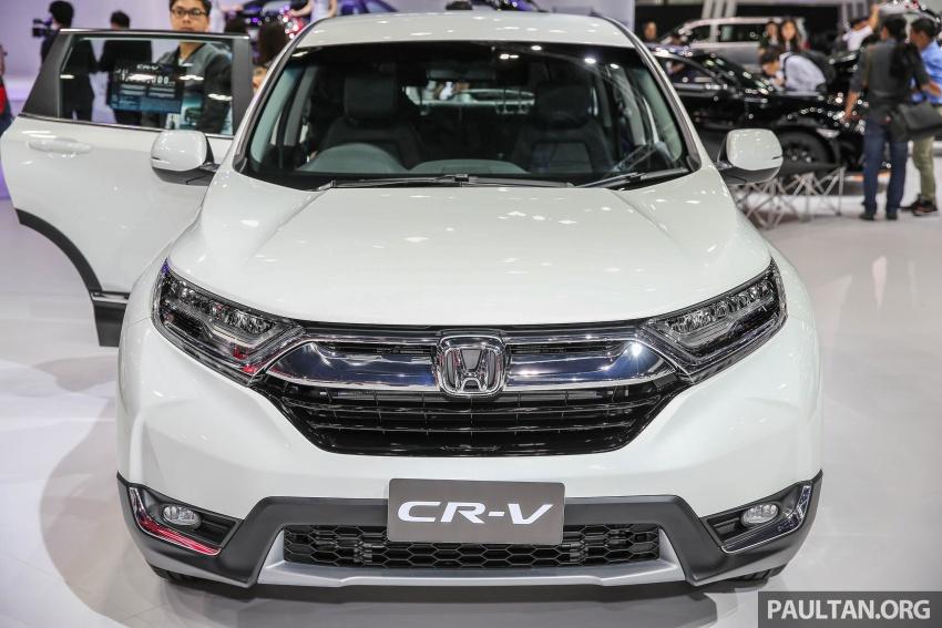 Bangkok 2017: Honda CR-V – Thai 7-seater live gallery Image #635316
