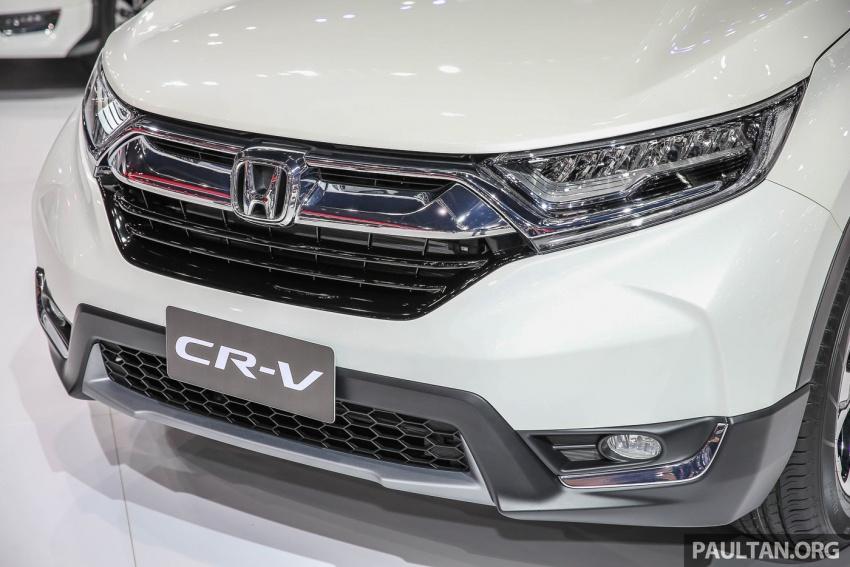 Bangkok 2017: Honda CR-V – galeri langsung dari Thailand; pilihan enjin 2.4L petrol dan 1.6L diesel Image #635458