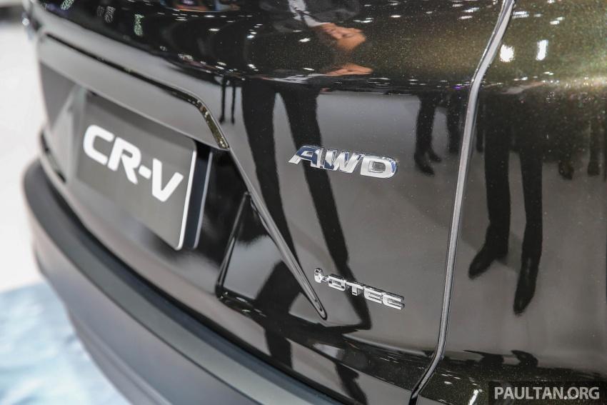 Bangkok 2017: Honda CR-V – galeri langsung dari Thailand; pilihan enjin 2.4L petrol dan 1.6L diesel Image #635523