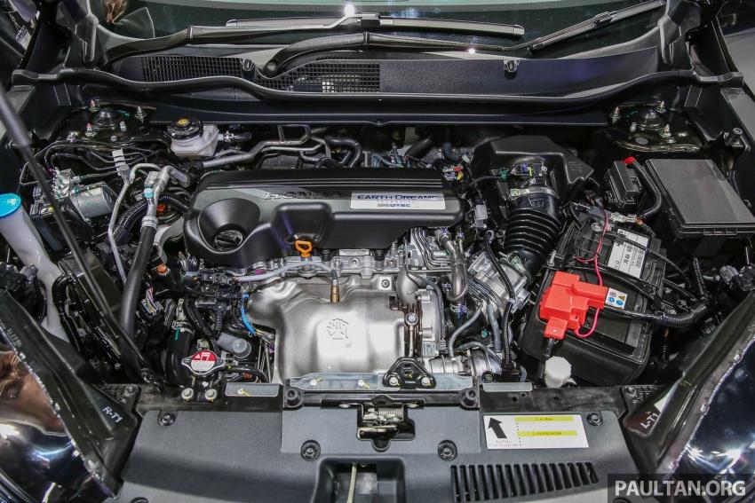 Bangkok 2017: Honda CR-V – galeri langsung dari Thailand; pilihan enjin 2.4L petrol dan 1.6L diesel Image #635511