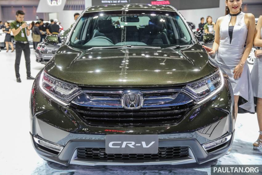 Bangkok 2017: Honda CR-V – galeri langsung dari Thailand; pilihan enjin 2.4L petrol dan 1.6L diesel Image #635534
