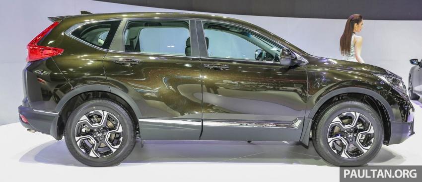 Bangkok 2017: Honda CR-V – galeri langsung dari Thailand; pilihan enjin 2.4L petrol dan 1.6L diesel Image #635481