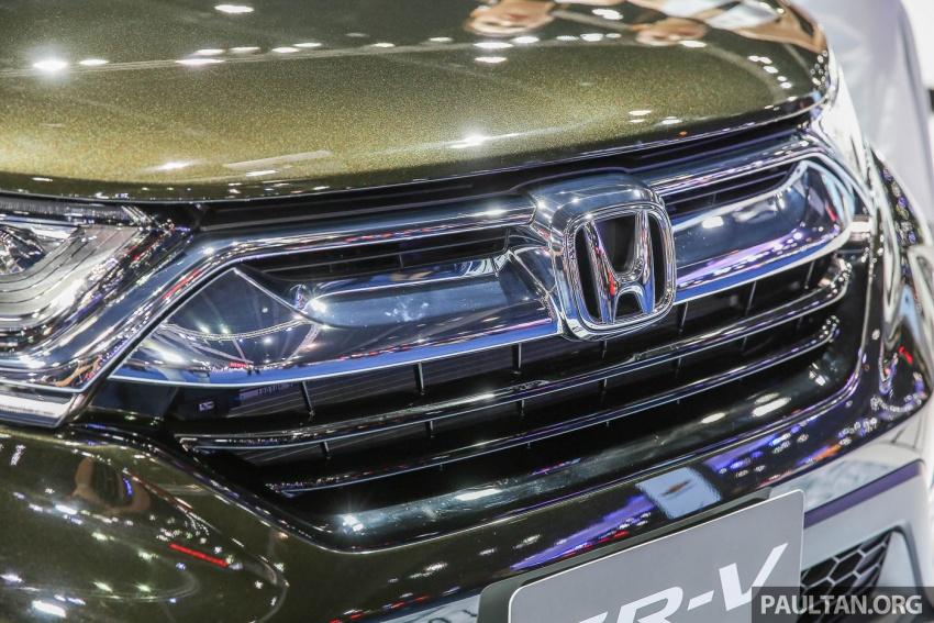 Bangkok 2017: Honda CR-V – galeri langsung dari Thailand; pilihan enjin 2.4L petrol dan 1.6L diesel Image #635538