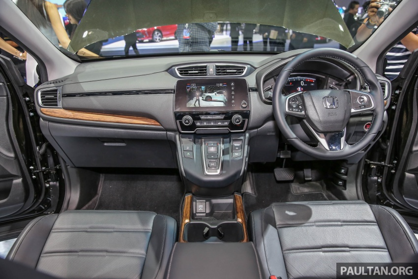 2018 honda 7 seater. wonderful honda also new for the crv in thailand is a diesel engine option the 16 litre  n16 dohc idtec turbodiesel from outgoing europeanmarket model makes 160 hp  throughout 2018 honda 7 seater