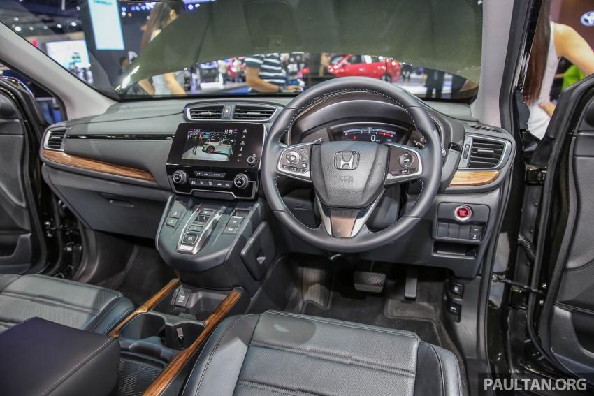 Bangkok 2017: Honda CR-V – galeri langsung dari Thailand; pilihan enjin 2.4L petrol dan 1.6L diesel Image #635483