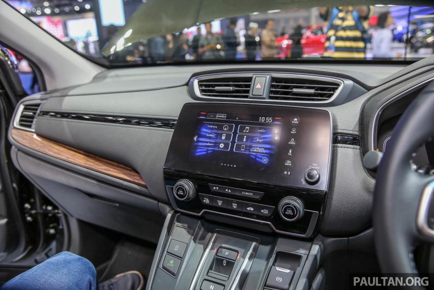 Bangkok 2017: Honda CR-V – galeri langsung dari Thailand; pilihan enjin 2.4L petrol dan 1.6L diesel Image #635495