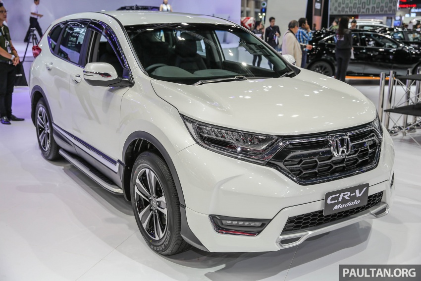 Bangkok 2017: Honda CR-V with Modulo accessories Image #635727