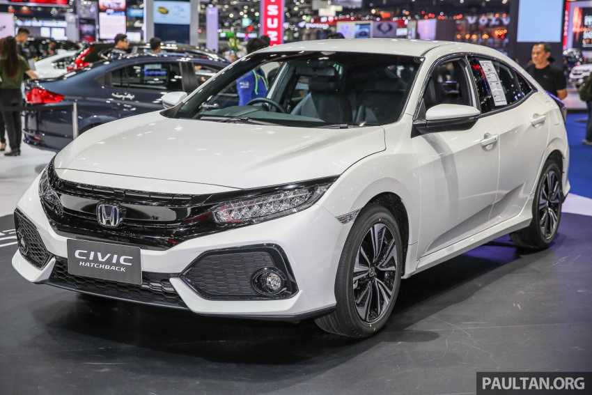 Bangkok 2017: Honda Civic Hatchback 1.5L Turbo Image #635612