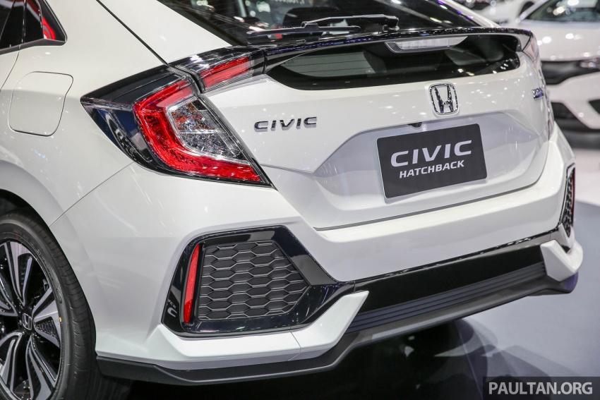 Bangkok 2017: Honda Civic Hatchback 1.5L Turbo Image #635622